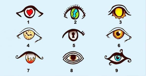 Descubre tu personalidad: Test del ojo