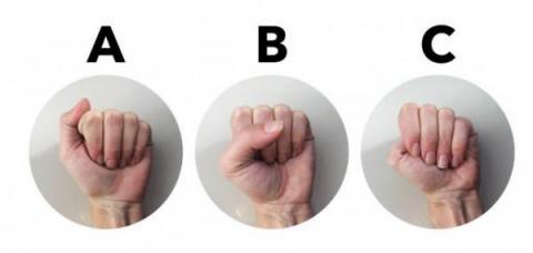 Cómo es tu personalidad de acuerdo con la forma en la que cierras el puño