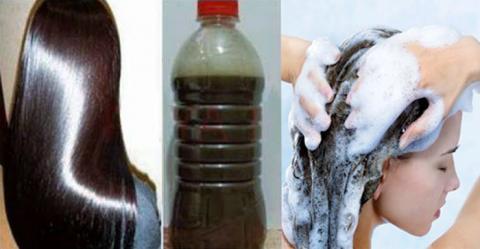 Este Champú hecho en casa está causando sensación en todas partes, deja tu cabello liso, crece más rápido y no se caerá más.