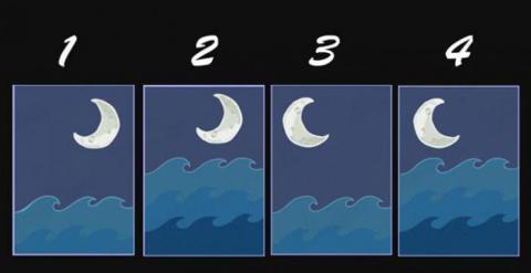 Elige una de estas lunas y descubre tu personalidad oculta