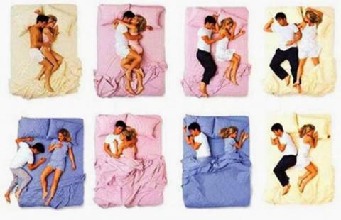 La forma de dormir con tu pareja indica como esta la relación