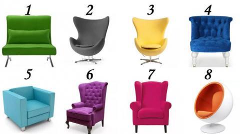 Elige una silla y descubre que lugar ocupas en esta vida