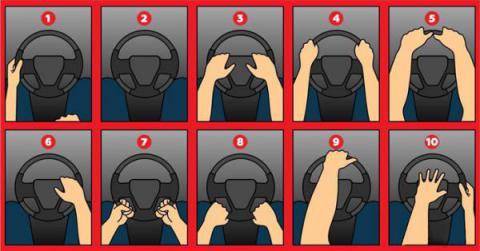 La forma como sostienes el volante del coche revela secretos de tu personalidad