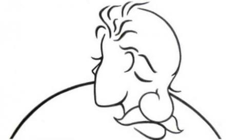 ¿Que viste primero? ¿El perfil de una chica o la cara de un anciano?