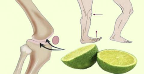 Con solo usar esta receta de limón: adiós dolores de articulaciones, calambres por las noches y no más dolor en la espalda
