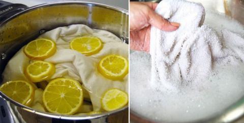 5 formas naturales de blanquear tu ropa sin usar cloro!!