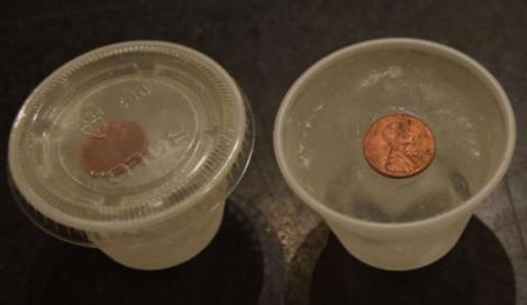 Descubre por qué es bueno poner una moneda en el congelador cuando sales de viaje