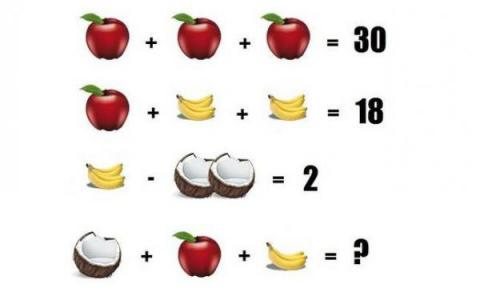 ¿Puedes resolver este acertijo? La respuesta no es 16