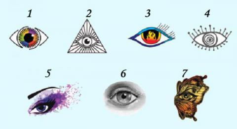 Elige uno de estos ojos y descubre ese algo especial sobre tu ser Interior