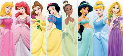 Dime qué princesa te gusta y te diré que desorden mental padeces