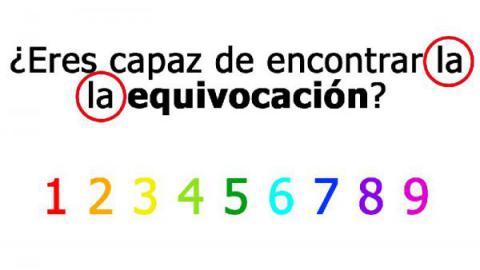 Solución ¿Eres capaz de encontrar la equivocación?