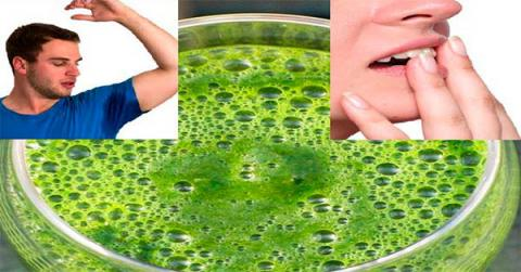 Bebe esto por la mañana y NO olerás al sudar ni tendrás mal aliento!