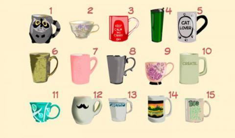 Elige la taza en la que tomarías tu café y podremos decirte tanto sobre ti que desconoces…