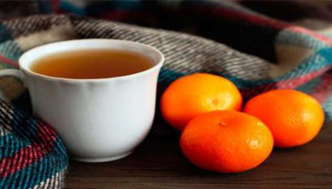 Té de mandarina para dormirse en menos de 10 minutos