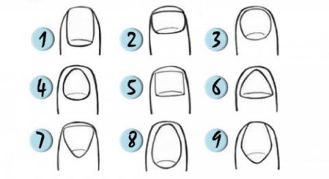 La forma de tus uñas revela mucho sobre ti ¿Cuál eres tú?