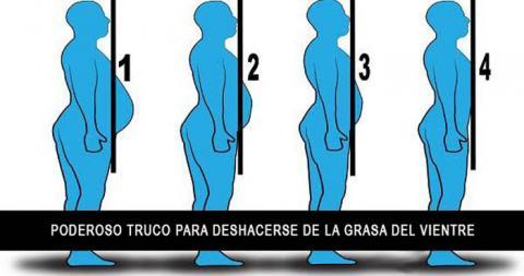 Cómo deshacerse de la grasa del vientre siguiendo estos consejos (sin ir al gimnasio).