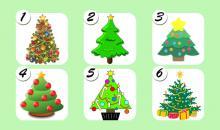 Elige uno de estos árboles de navidad y descubre un mensaje importante para este mes de diciembre