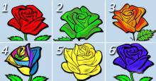Elige a la rosa más bella para que podamos revelarte los hermosos secretos de tu personalidad…