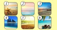 Observa las 6 playas, comenta la que mas te agrade y descubre cómo su significado se refleja en tu vida.