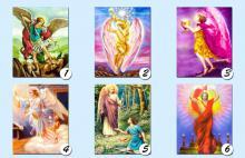 Elige una de las seis cartas de tu arcángel favorito, con la que más resuenes y descubre el mensaje que él tiene para ti