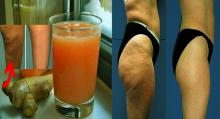 Jugo de jengibre y cítricos para eliminar la celulitis y bajar de peso