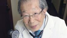 Estos son los consejos de un doctor japonés de 105 años para tener una vida verdaderamente saludable
