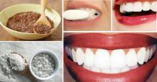 ¡Enjuaga tus dientes por 30 segundos con este remedio y quita el sarro y la placa bacterial de los dientes!