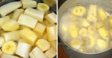 Hierve los plátanos con canela y bébelo antes de acostarse. ¡Un efecto sin igual!