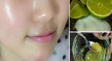 Cómo usar el limón para quitar las manchas de la cara y tener una piel brillante y juvenil!!