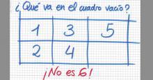 Reto: 12345?: La respuesta no es 6