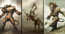 Los Signos del Zodiaco fueron convertidos en sus monstruos terroríficos