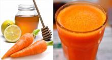 Zanahoria, limón y miel, sacará la gripe, sanará la tos y limpiará tus pulmones de la flema, prepáralo de esta forma
