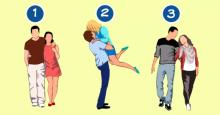 ¿Cuál de estas parejas es la más feliz? Tu elección revelará cómo te comportas en una relación